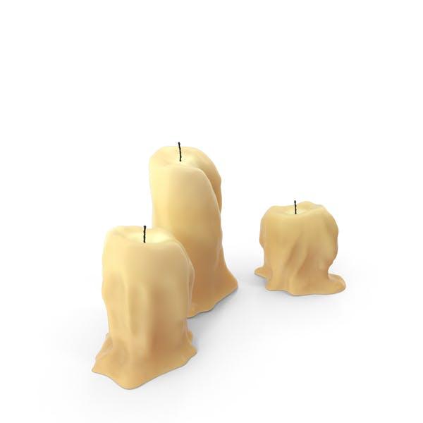 Средневековые настольные свечи