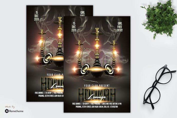 Thumbnail for Hookah - Lounge Flyer MR