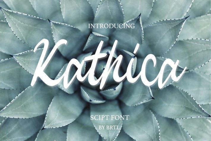 Thumbnail for Kathica Script