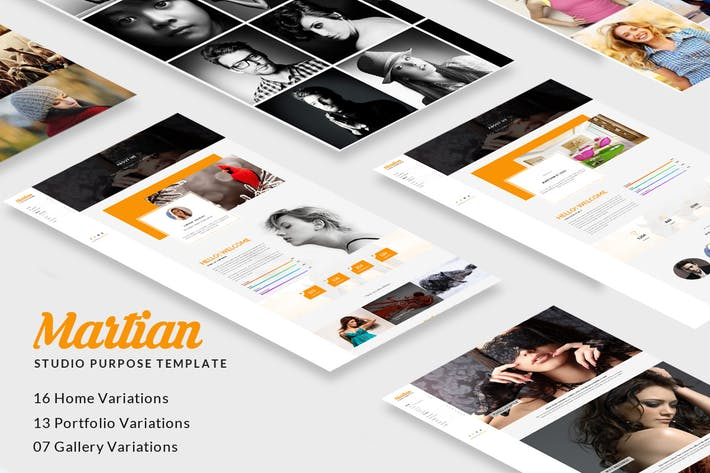 Thumbnail for Martian - Studio Purpose HTML Template