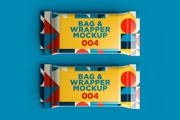 Thumbnail for Bag & Wrapper Mockup 004