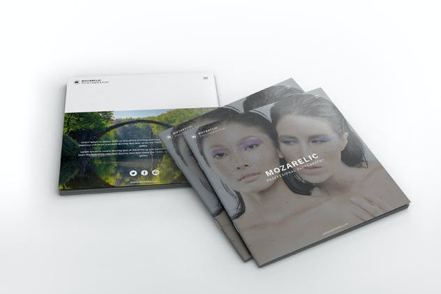 Mozarelic Photography Square Brochure