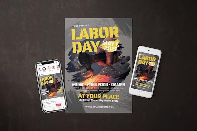 Labor Day - Flyer Media Kit
