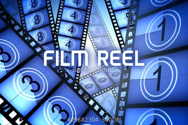 Thumbnail for Film Reel Backgrounds