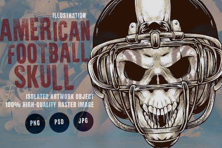 American Football Skull