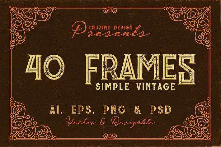 Thumbnail for 40 Vintage Frames