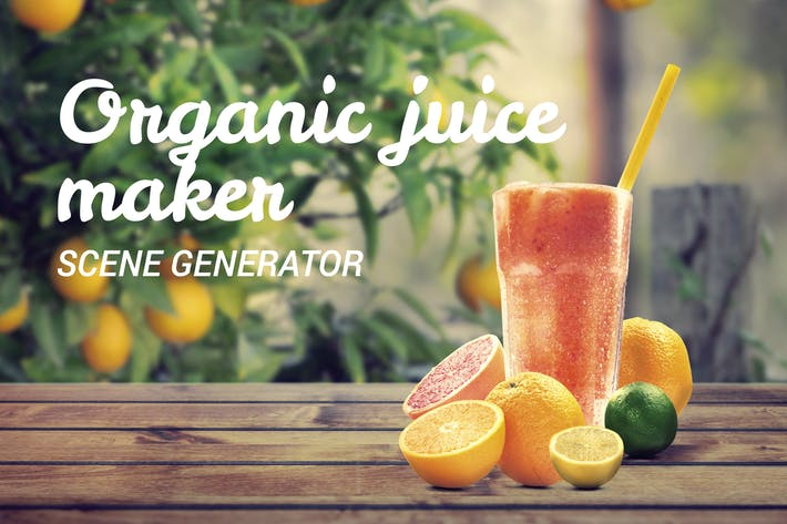 Thumbnail for Organic Juice Maker Scene Generator