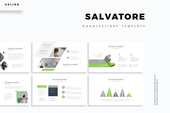 Thumbnail for Salvatore - GoogleSlides Template