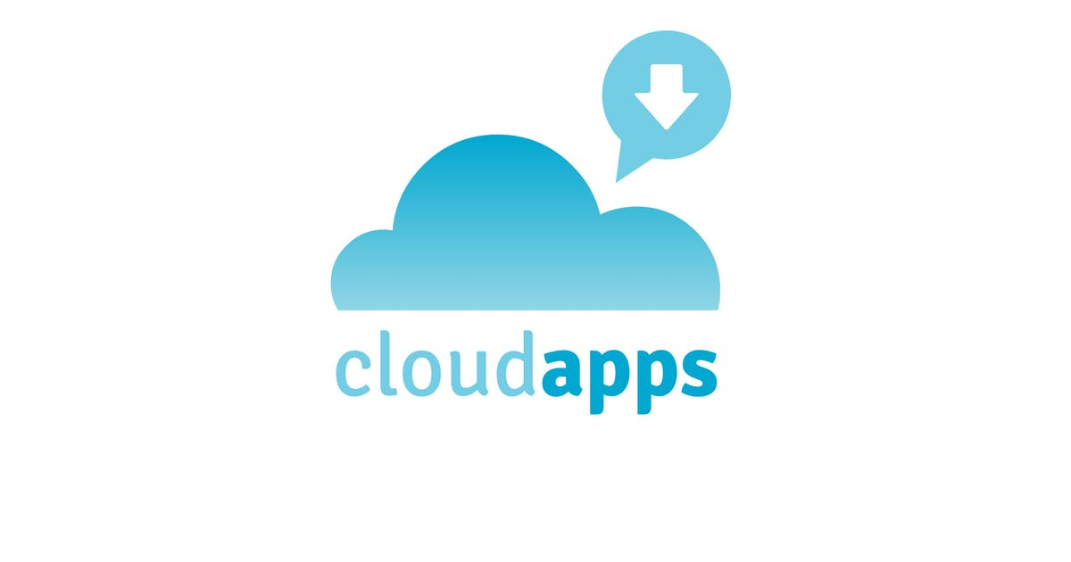 Download Cloud Apps Logo Template by 1protheme