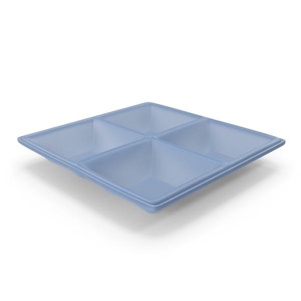 Thumbnail for Plastic 4 Compartment Bowl