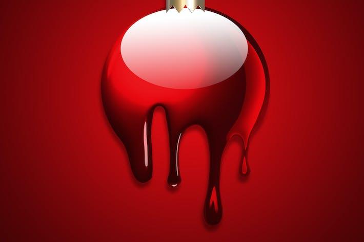 Thumbnail for flüssiger Weihnachtsball