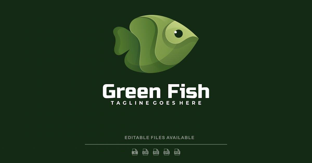 Download Green Fish Gradient Logo by artnivora_std