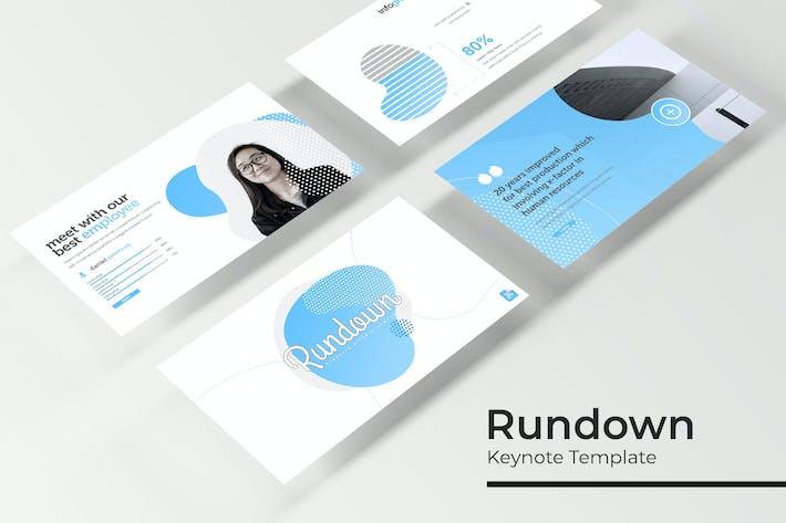 Thumbnail for Rundown - Keynote Template