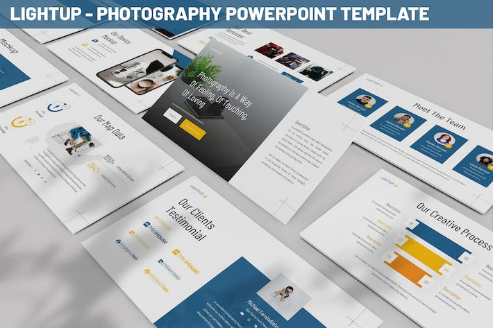 Lightup - Photography Powerpoint Template