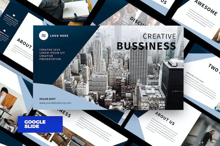 Thumbnail for Business Modern Google Slide