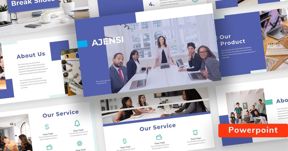 Download Ajensi - Presentation Template Keynote by sudutlancip