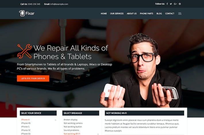Thumbnail for Fixar - Phone & Computer Repair Theme