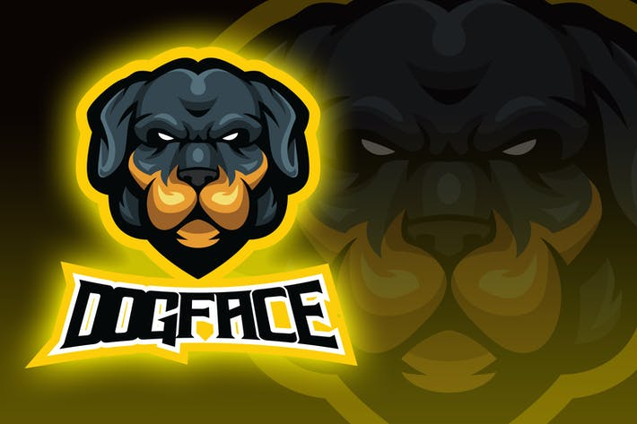 Thumbnail for Dog Head Esport Logo