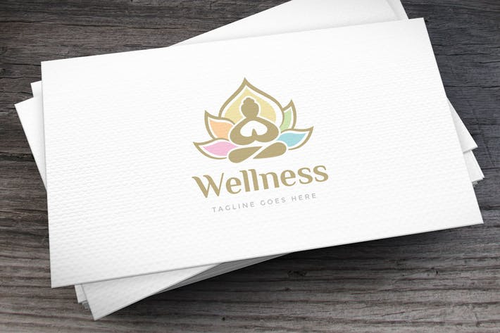 Thumbnail for Wellness Logo Template