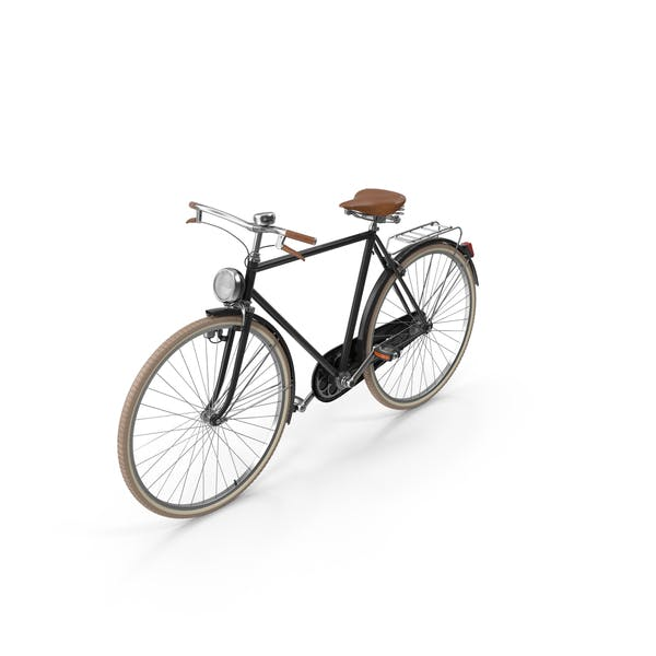 Cover Image for Black Vintage Bicycle