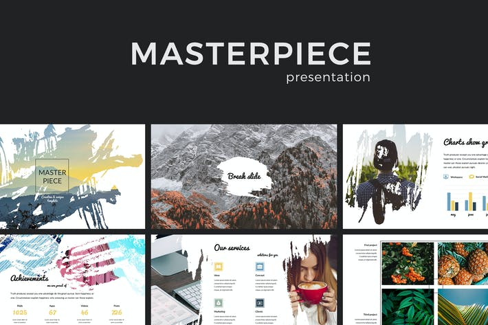 Thumbnail for Masterpiece PowerPoint Presentation