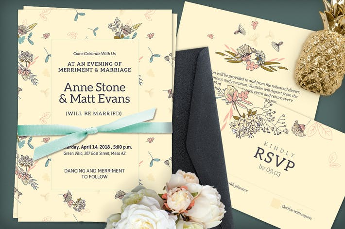 download 144 popular landscape wedding invitations print templates