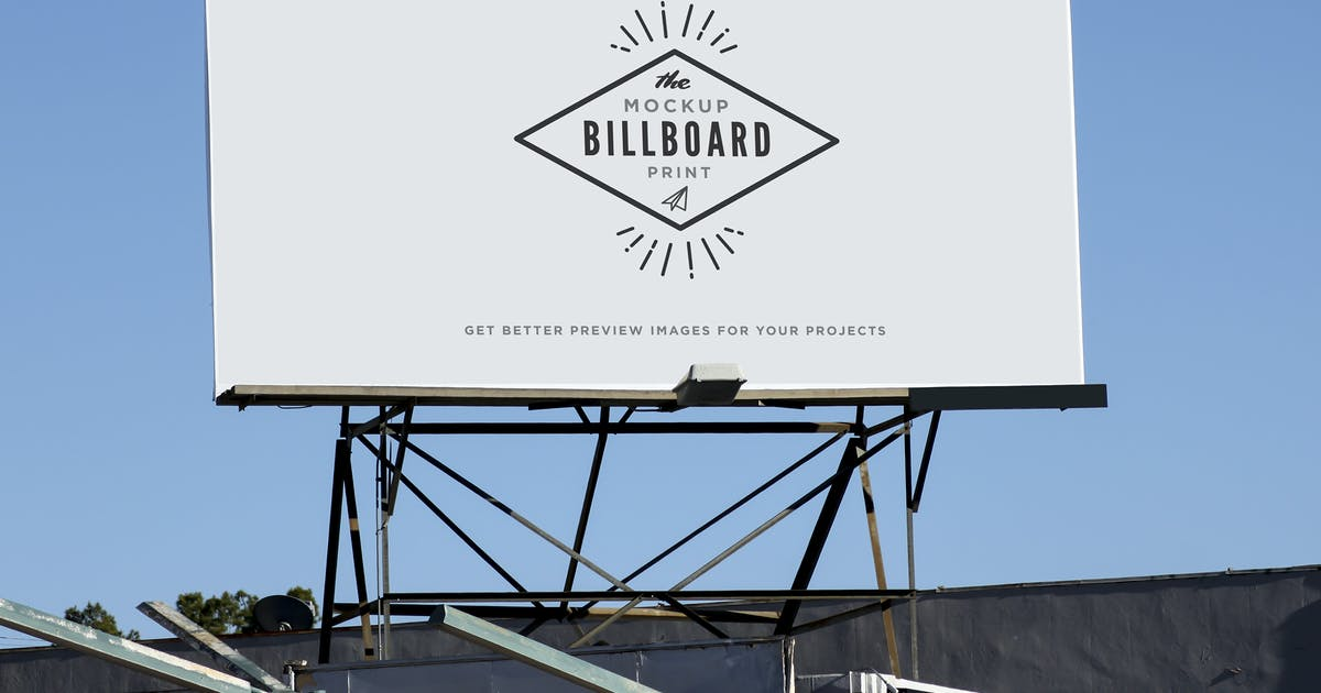 Download Billboard Mockups by itscroma