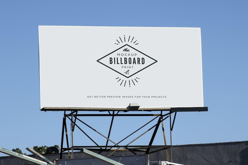 Download Billboard Street Indie Print Mock-Up by itscroma