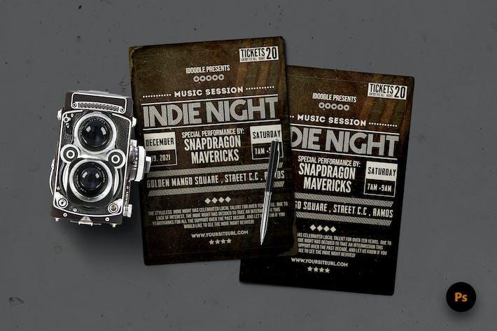 Typography Flyer
