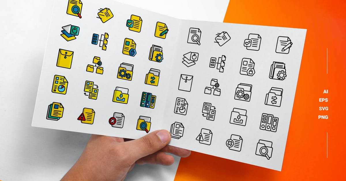 Download File Management - Icons by esensifiksi