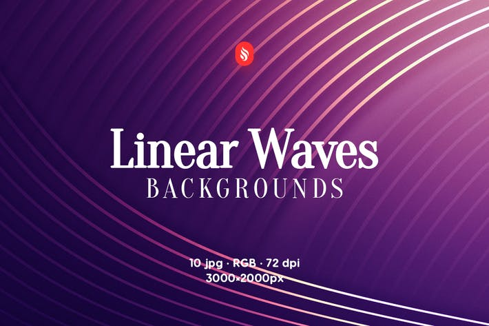 Thumbnail for Abstract Linear Waves Backgrounds