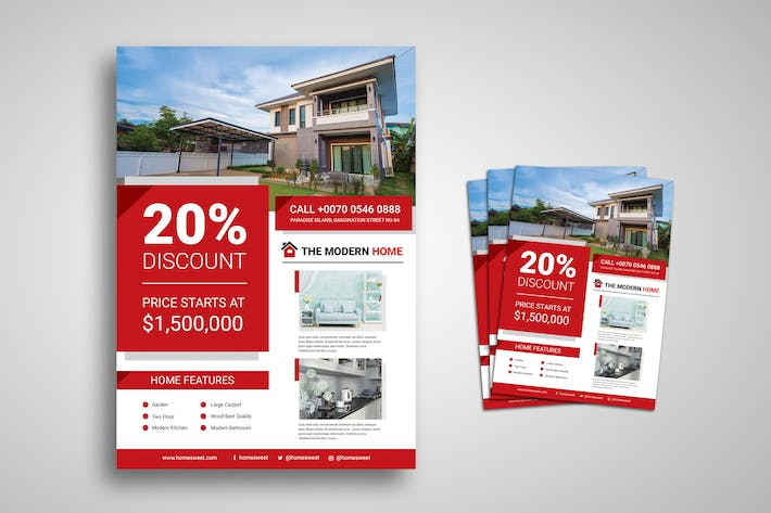 Thumbnail for Real Estate Promo Flyer