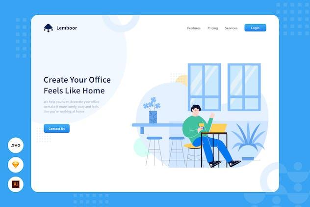 Work Smart - Website Header - Illustration