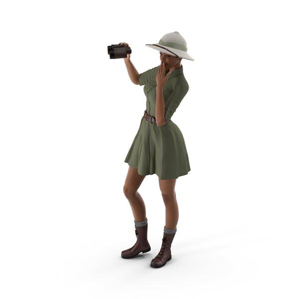 Светлая кожа Черная женщина Explorer