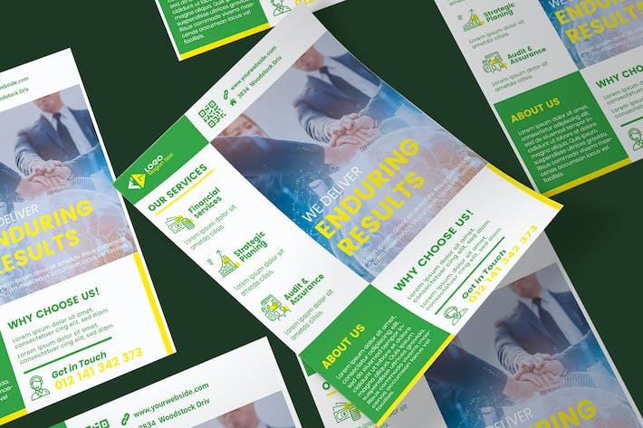 Thumbnail for Business Poster PSD Template