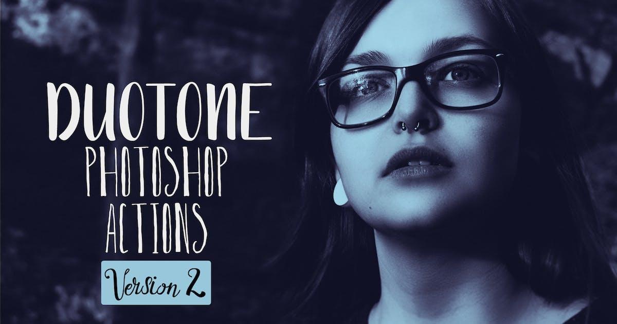 Download Duotone Photoshop Actions Vol. 2 by creativetacos