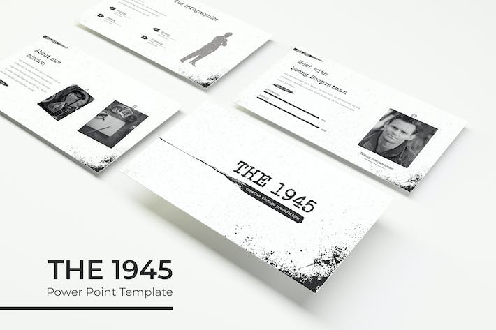 Thumbnail for The 1945 - PowerPoint Template