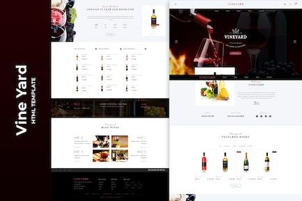 Vine Yard HTML Template