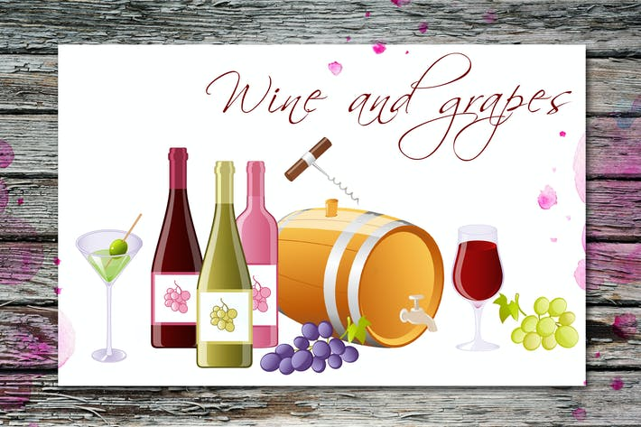 Thumbnail for Wine and Grapes