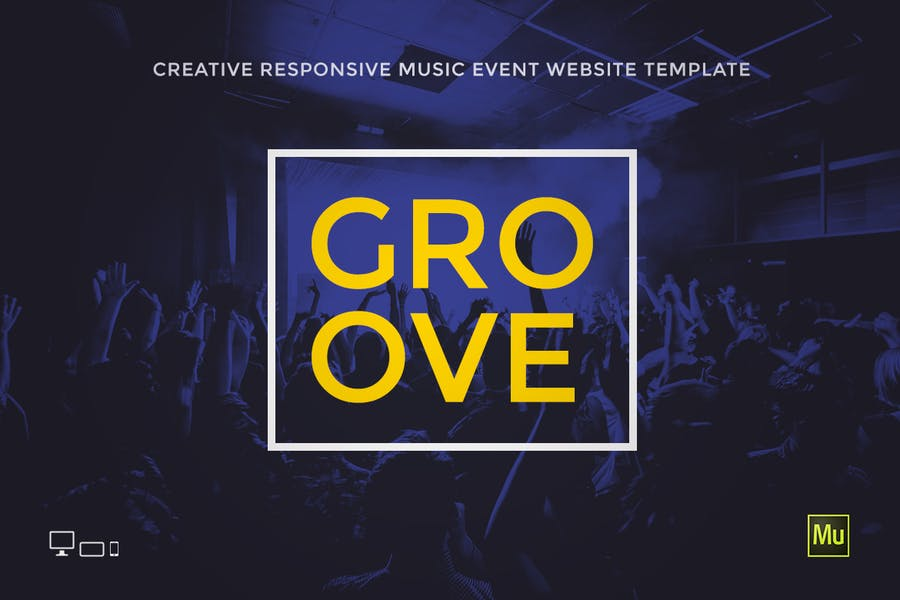 Groove - Music Event / Party Promo Site Template