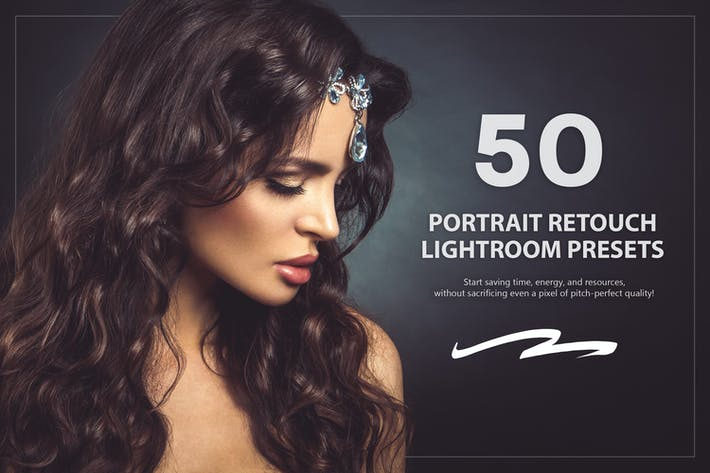 Thumbnail for 50 Portrait Retouch Lightroom Presets
