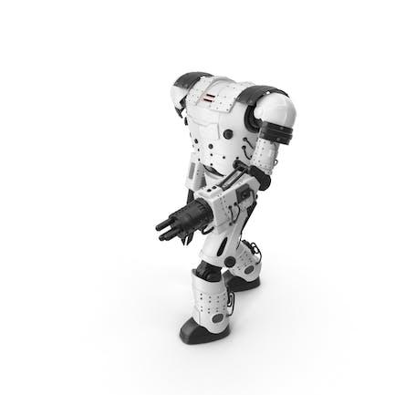 Weißer Roboter