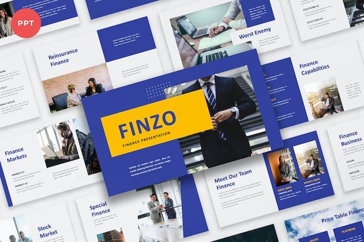 Thumbnail for Finzo - Finance PowerPoint