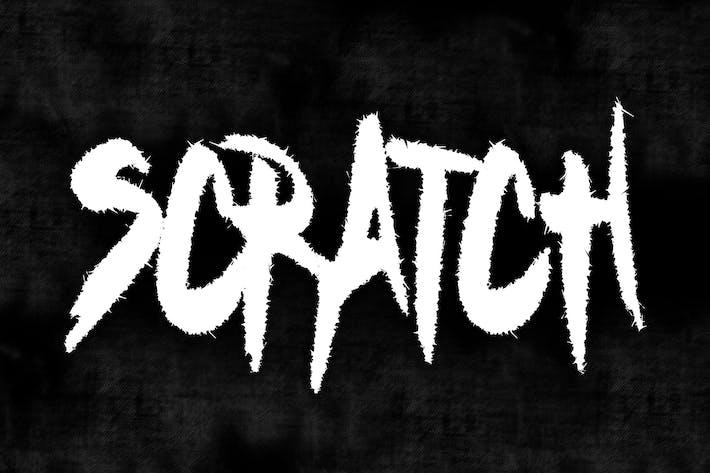 Thumbnail for FONT MÉTAL SCRATCH
