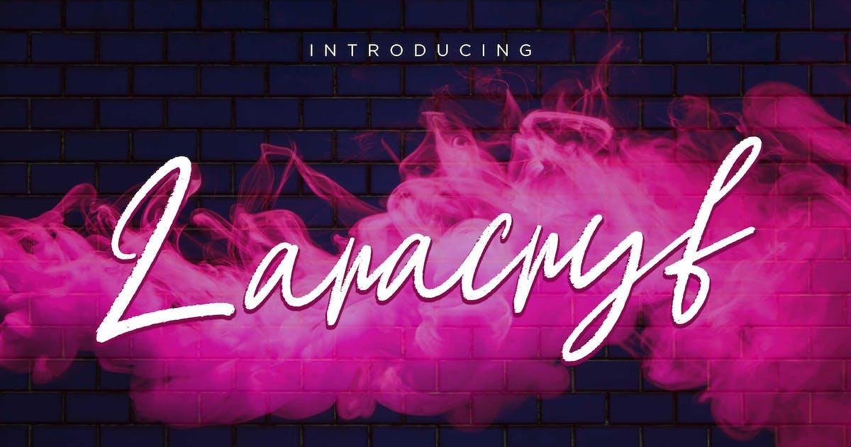 Download Laracryf Brush Handwritten by RahardiCreative