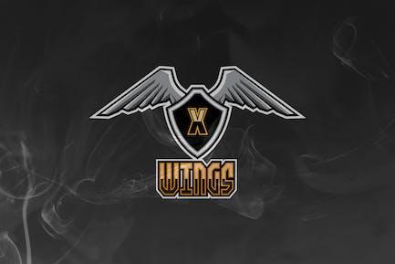 Wings - Wings Mascot & Esport Logo V.11