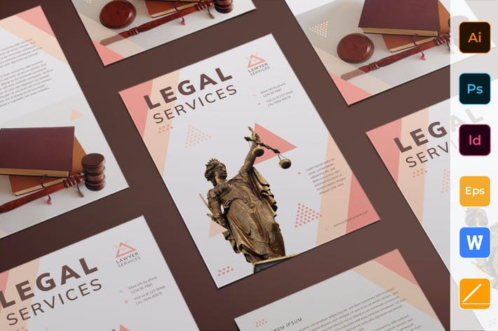 Cover Image For Legal Services Flyer