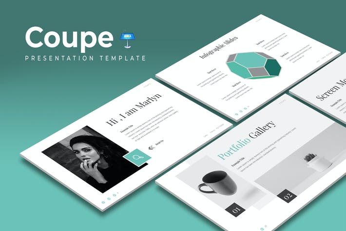 Thumbnail for Coupe - Keynote Template