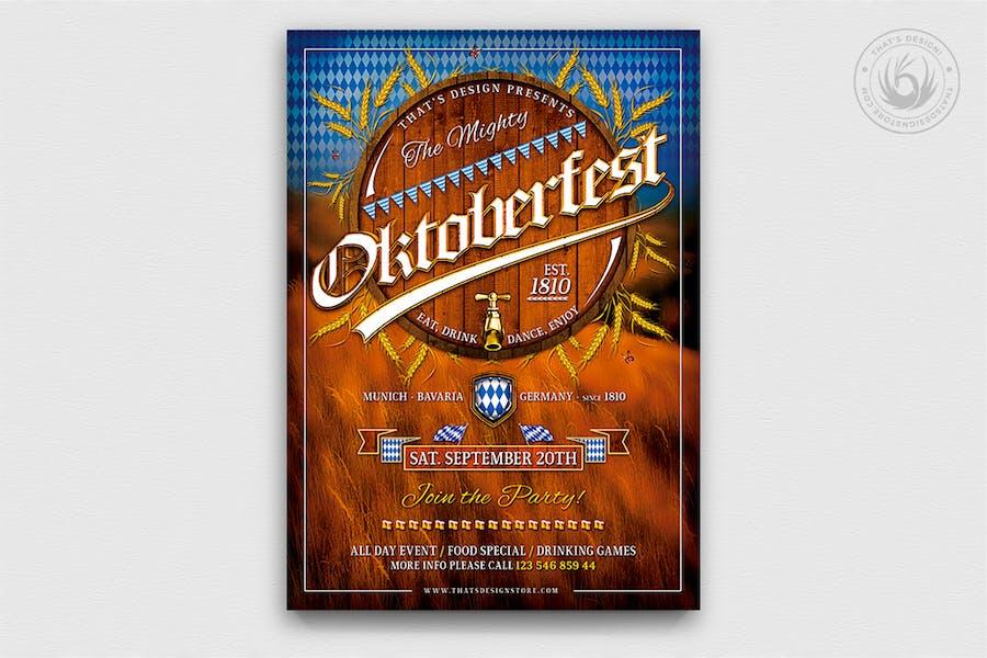 Oktoberfest Flyer Template V2