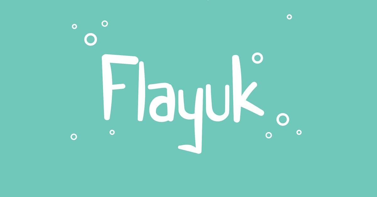 Download Flayuk Display Font TS by Rometheme